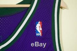 Glenn Robinson Milwaukee Bucks Pro Cut Game Worn Champion Authentic Jersey 48+4