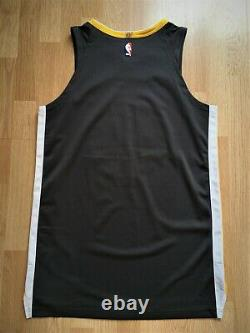Golden State Warriors Nike team issued pro cut authentic game jersey 50+4 town