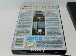 Gunnac Nintendo NES Game Complete in Box Tested 1 Owner Gun Nac Authentic