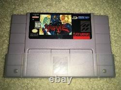 Hagane The Final Conflict (Super Nintendo Entertainment System, 1994) Authentic