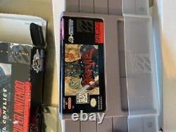 Hagane The Final Conflict Super Nintendo SNES 100% Authentic CIB FAST SHIP