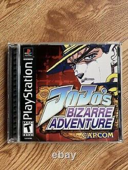 JoJos Bizarre Adventure (Playstation 1, PS1) RARE, AUTHENTIC, TESTED