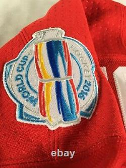 Joe Thornton Authentic Game Used Jersey World Cup Of Hockey 2016 Team Canada