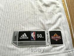 KOBE BRYANT 2009 NBA All Star Game pro cut jersey adidas LA Lakers authentic 24