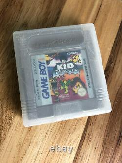 Kid Dracula Nintendo Game Boy 1993 Authentic PAL ENGLISH Cart Only Region Free
