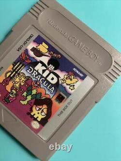 Kid Dracula (Nintendo Game Boy) - Authentic game cart - GameBoy Holy Grail