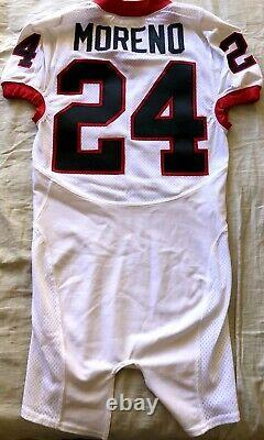 Knowshon Moreno Georgia Bulldogs TEAM ISSUED authentic Nike stitched game jersey