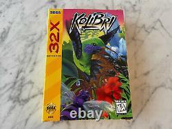 Kolibri Sega 32x 100% Complete In Box CIB Authentic