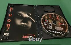 Kuon PS2 RARE US Version Playstation 2 Complete & Authentic
