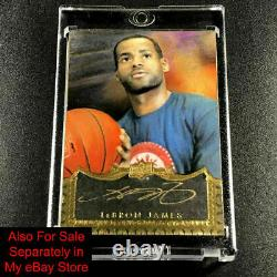 Lebron James / Michael Jordan 2007 Sp Game Used Authentic Fabrics Jersey /99 Nba