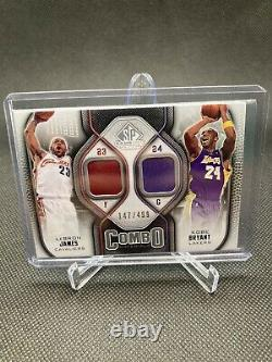Lebron/Kobe Dual Jersey SP Authentic GAME USED /499
