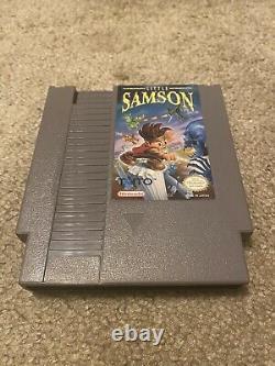 Little Samson Nintendo NES CIB Authentic tested