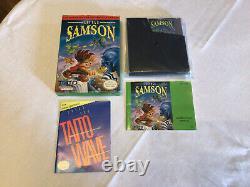 Little Samson (Nintendo NES) Complete In Box 100% Authentic