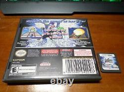 MEGA MAN Star Force Dragon + Pegasus + Ninja Nintendo DS authentic 3ds Rare