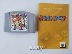 Mario Party 1 + 2 + 3 (Nintendo 64, N64) Authentic Game Carts, Cleaned & Tested