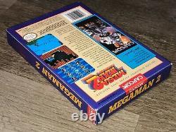 Mega Man 2 Nintendo Nes Complete CIB Near Mint Condition Authentic