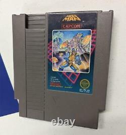 Mega Man Nintendo NES Game Authentic