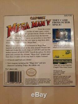 Mega Man V 5 Nintendo GameBoy GAME BOY BOX ONLY! CAPCOM USA MEGAMAN GB AUTHENTIC