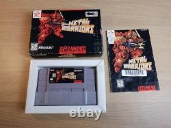 Metal Warriors (Nintendo SNES) Authentic & Complete in Box CIB