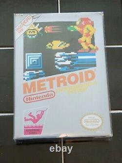 Metroid (Nintendo NES, 1987) Complete In Box CIB Authentic