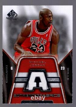 Michael Jordan 2007-08 Sp Game Used Authentic Fabrics Jersey Chicago Bulls