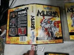 Musha (Sega Genesis) Complete with registration card - Authentic - M. U. S. H. A