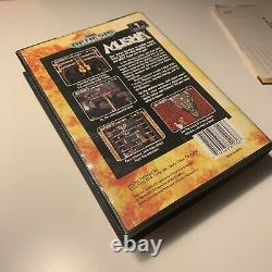 Musha Sega Genesis M. U. S. H. A Complete CIB Authentic Original Manual & Reg Card
