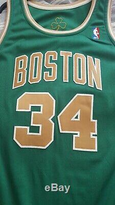 NBA Paul Pierce Authentic Game worn St Patricks day Boston Celtics jersey