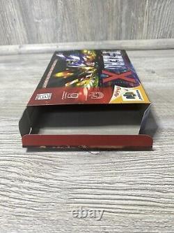 NR MINT! F-Zero X Nintendo 64 N64 Racing Game Complete CIB Manual Box AUTHENTIC