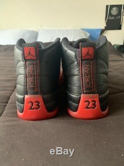 Nike jordan 12 retro Flu Game Size 10 Lot 100% Authentic