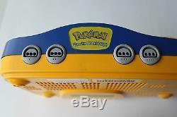 Nintendo 64 N64 Authentic Pokemon Pikachu Game Console Super Rare Retro Kids