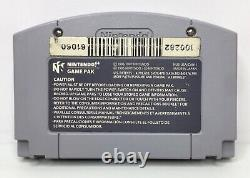 Nintendo 64 N64 Clay Fighter Sculptors Cut Authentic/Cleaned/Tested