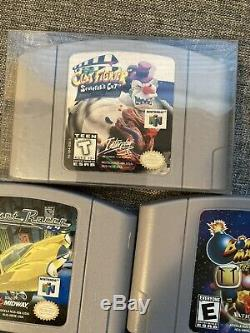 Nintendo 64 N64 Lot Cartridge Only Authentic Clay Fighter Sculptors Cut, Tested