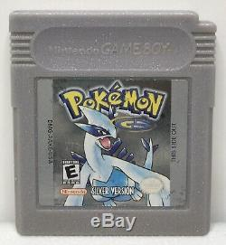 Nintendo Game Boy Color Pokemon Silver Game Only Authentic New Save Battery