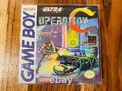 Operation C Gameboy Nintendo CIB Complete Box Manual Cart AUTHENTIC VG+