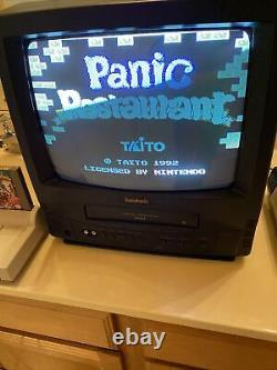 Panic Restaurant NES Nintendo Entertainment System Rare 100% Authentic USA TAITO