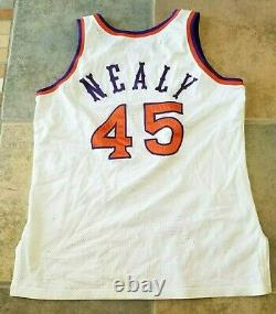 Phoenix Suns Game Used Nba Basketball Jersey 1990 Ed Nealy Authentic Vintage
