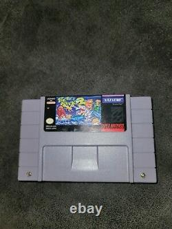 Pocky & Rocky 2 Super Nintendo SNES Tested & Works 100% Authentic