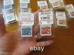 Pokemon Alpha Sapphire & Omega Ruby Nintendo 3DS LOT AUTHENTIC ONLY CARTRIDGE