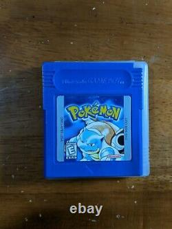 Pokemon Blue Version (Game Boy, 1998) CIB, 100% Authentic, One owner