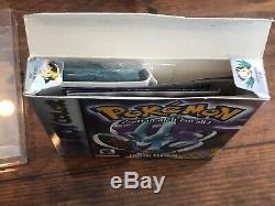 Pokemon Crystal Version (Game Boy Color) Nintendo Authentic Complete with Box