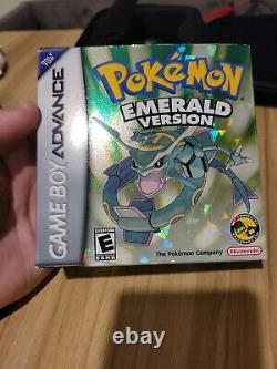 Pokemon Emerald GBA CIB+ complete pokémon authentic genuine game boy advance