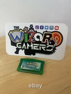 Pokemon Emerald Version Authentic (Game Boy Advance, 2002)
