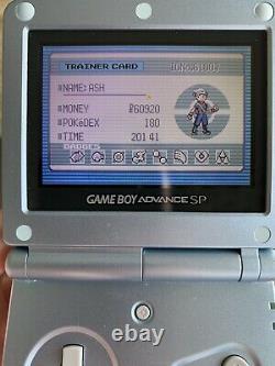 Pokemon Emerald Version Game Boy Advance GBA Authentic +guide -manual CIB Poster