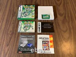 Pokemon Emerald Version (Nintendo Game Boy Advance, GBA) Complete Authentic