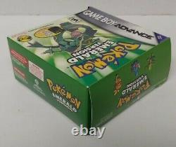 Pokemon Emerald with Bonus Case Version Box Game Boy Advance Authentic COMPLETE