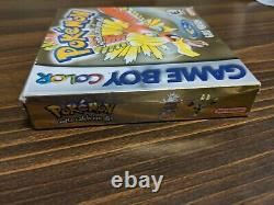Pokemon Gold Complete in Box Nintendo Game Boy Color GBA SP CIB AUTHENTIC
