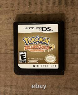 Pokemon HeartGold (Nintendo DS) 100% Authentic, Tested, Working! Case Included