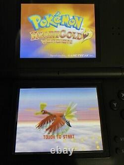 Pokemon HeartGold Nintendo DS % AUTHENTIC CIB COMPLETE IncredibleCondition