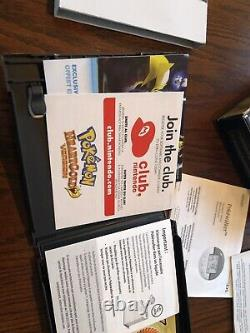 Pokemon HeartGold Version (Nintendo DS) Complete In Box With Pokewalker Authentic